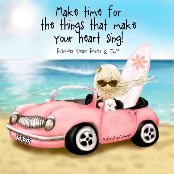 princess sassy pink car